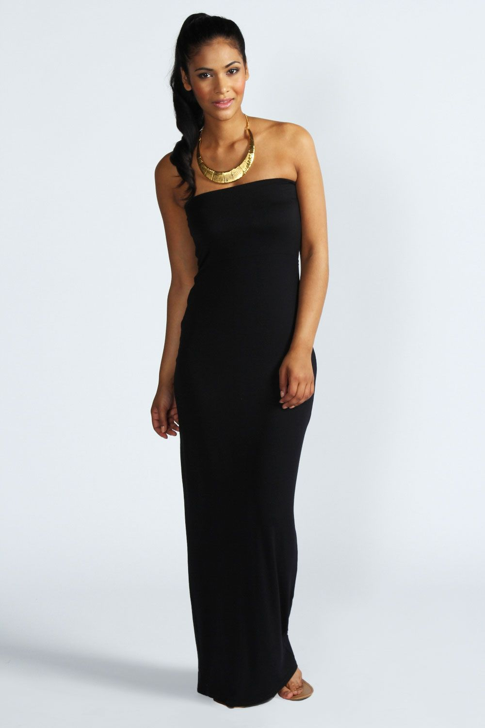 maisy bandeau maxi dress at boohoo.com RQBRXIT