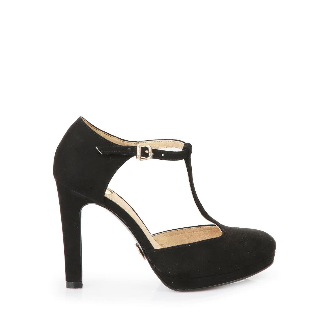 Mary Jane pumps buffalo buffalo mary jane heels in black OUUDTCS