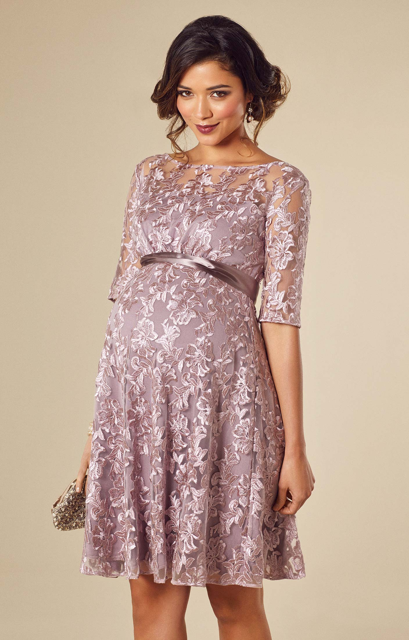maternity wear asha maternity dress lilac by tiffany rose HPJBYCZ