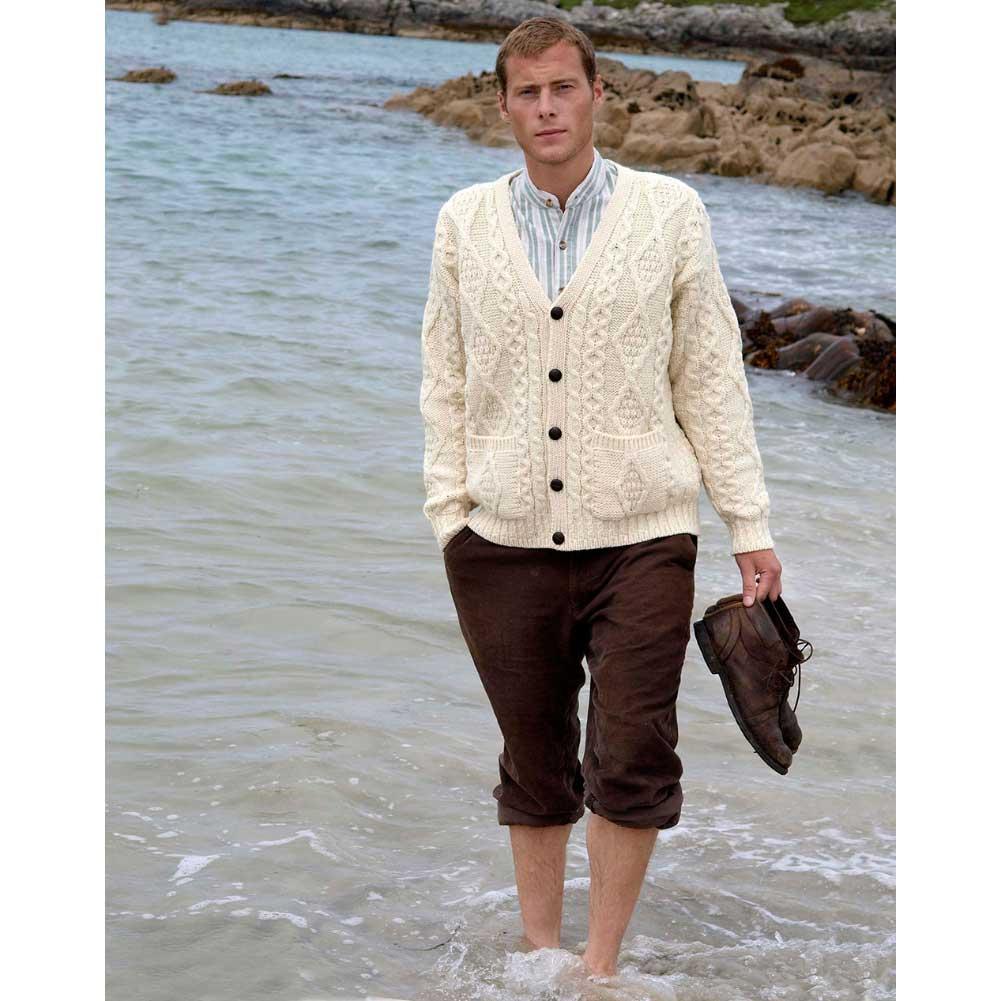 Mens cardigan irish sweater - menu0027s cardigan OBFTYUM