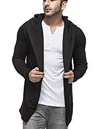 Mens cardigan menu0027s cotton blend hooded cardigan CZWRZGO