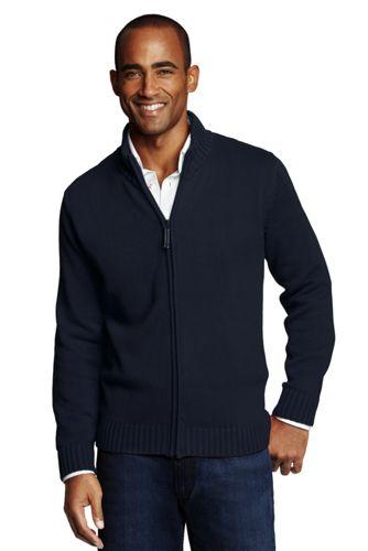 Mens cardigan menu0027s drifter zip-front cardigan PRWAXTN