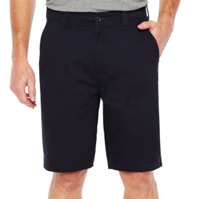 mens chino shorts mens shorts: khaki, plaid u0026 cargo - jcpenney UKDIBZY