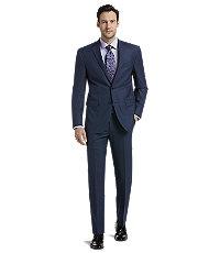 mens suits menu0027s sale, traveler collection slim fit mini check suit separates jacket -  jos a VVZLWGA