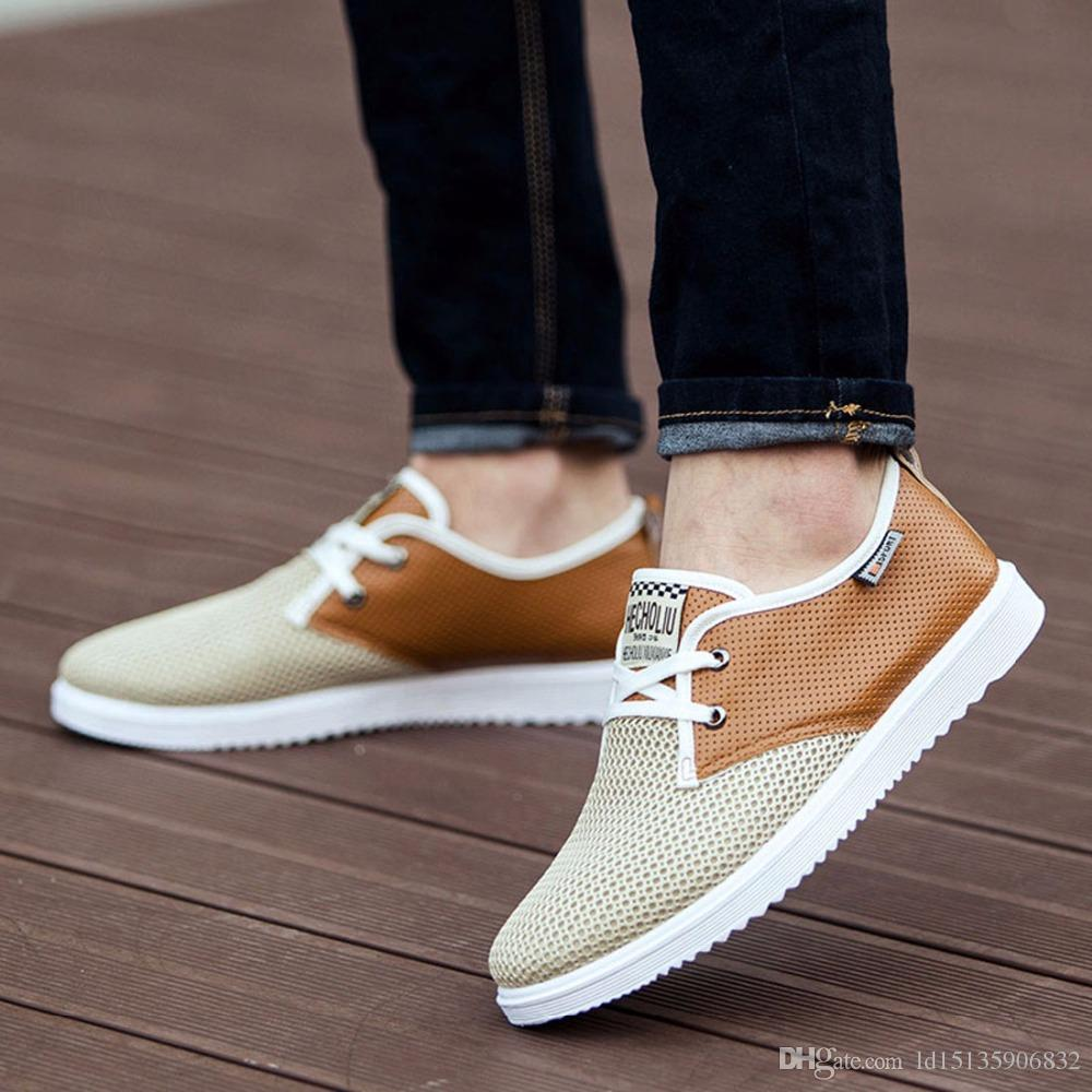 mens summer shoes hot sale men summer shoes breathable male casual shoes fashion chaussure  homme soft zapatos ZJAJCRX
