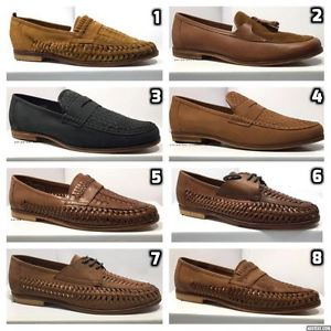mens summer shoes mens-leather-boat-smart-formal-summer-boat-office- WPBFQNC
