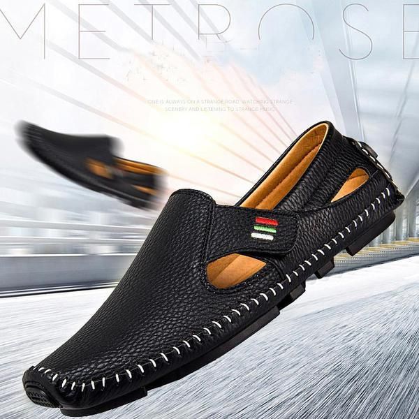 mens summer shoes shoes - 2018 menu0027s spring summer breathable soft shoes FSOQSYY