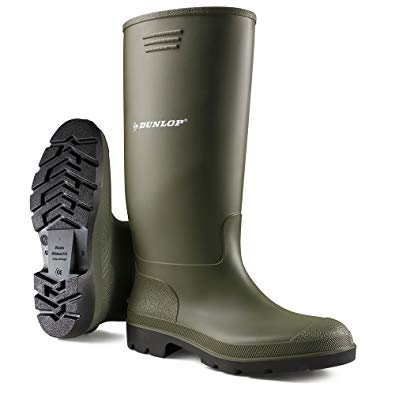 mens wellington boots dunlop menu0027s wellington boot pvc 8 green SRPMDSH