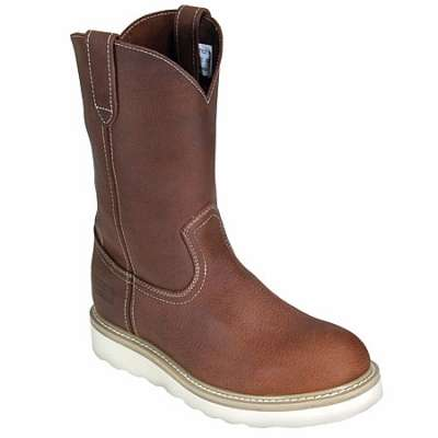 mens wellington boots mcrae boots: menu0027s wedge sole leather wellington boots mr85135 FSOJZUT
