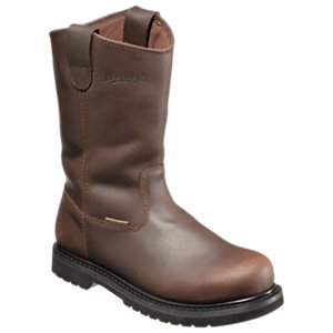 mens wellington boots redhead iron horse side-zip wellington waterproof work boots for men FIKXYKW