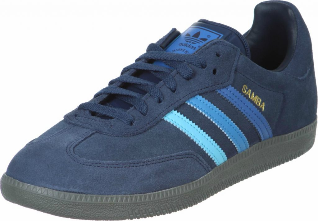 navy adidas samba trainers for men AUDWZBY