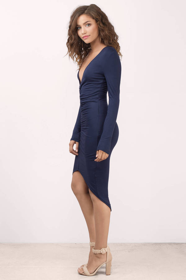 Navy Blue Dress vittoria navy midi dress vittoria navy midi dress ... XHDSCTF