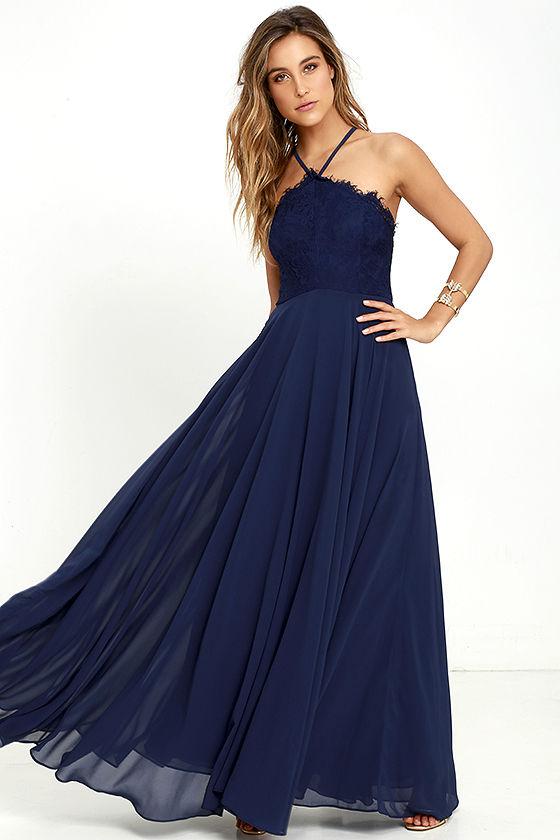 Navy Blue Maxi Dress everlasting enchantment navy blue maxi dress WPHLAZD