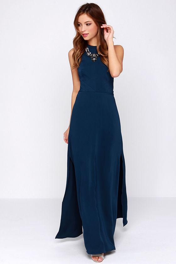 Navy Blue Maxi Dress ... keepsake adore you navy blue maxi dress ... AYFBIQZ