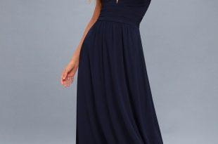 Navy Blue Maxi Dress leading role navy blue maxi dress RKCDKHE