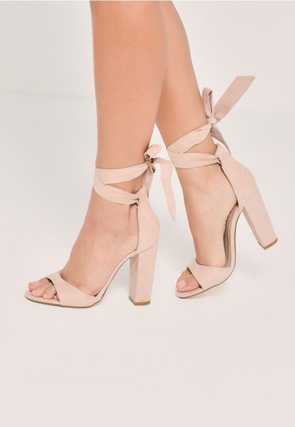 nude shoes nude heels are an essential and these curved vamp block heeled sandals are  our TWYBVOT