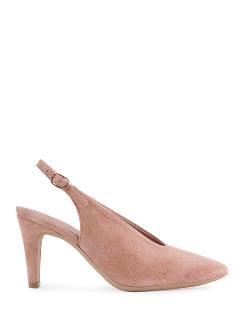 nude shoes nude suede shoes with high heel IKEABOL