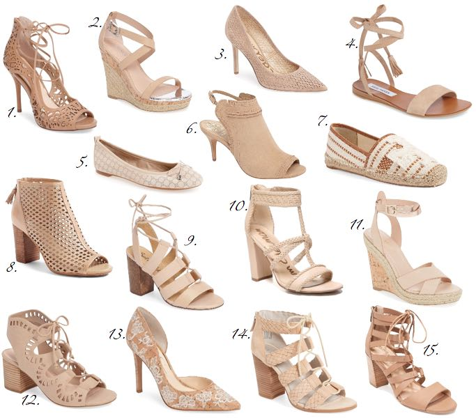 nude shoes under $100 HUAZMGW