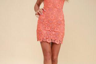 orange dress love poem coral orange lace dress JQLOMXT
