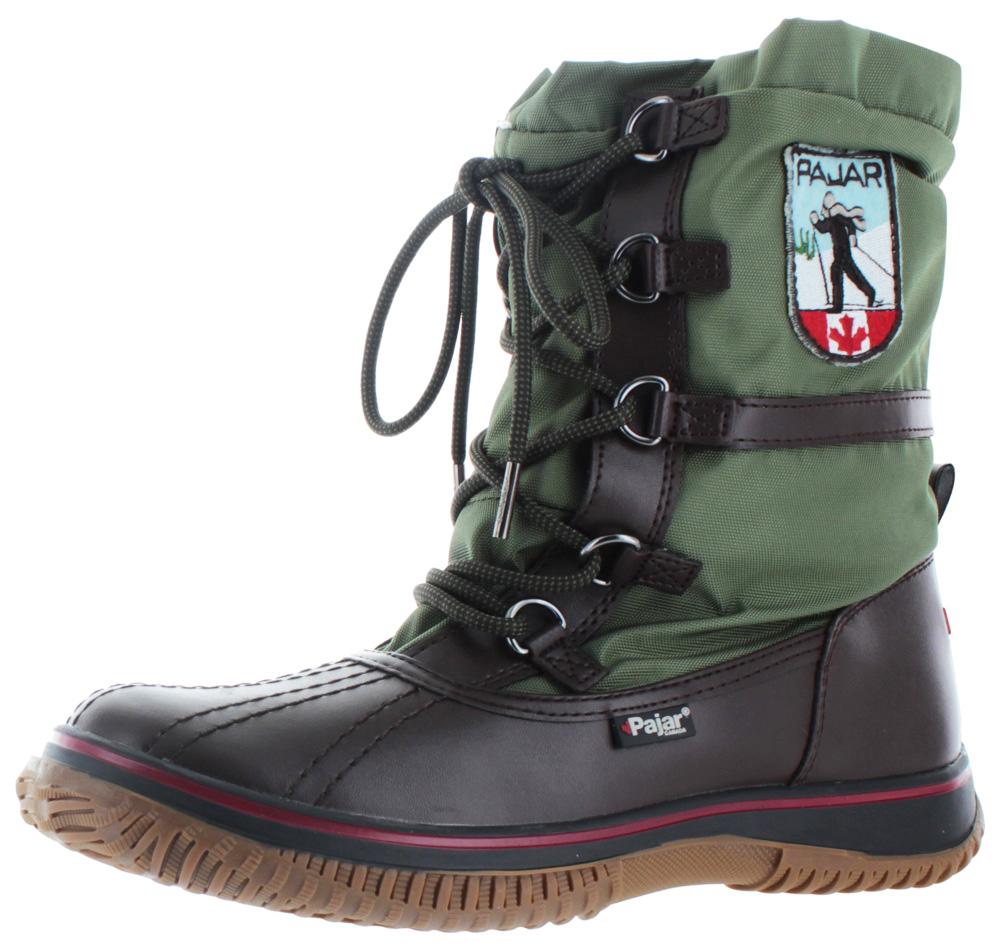 Pajar Boots pajar grip low womenu0027s snow boots waterproof - walmart.com TAGJLND