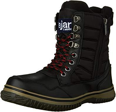 Pajar Boots pajar menu0027s tal snow boot, black/black, 41 eu/8-8.5 GUJBRVD