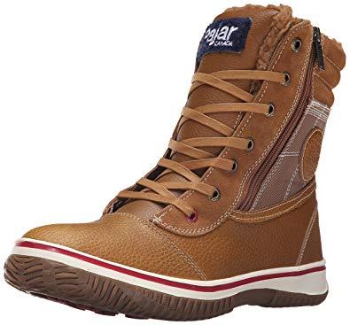 Pajar Boots pajar menu0027s trooper boot, cognac/cognac, ... TUDXVNS