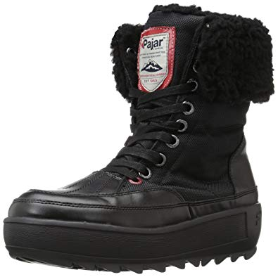 Pajar Boots pajar womenu0027s princess boot, black/black, ... OUFIEGE