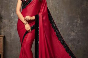 Party Wear Sarees hover to zoom QETFKSV
