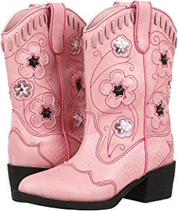 Pink Cowboy Boots western lights cowboy boots (toddler/little kid) PLHJPQJ