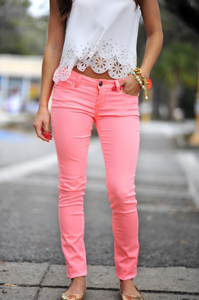Pink Pants pink pants for women (5) LPCWMHY