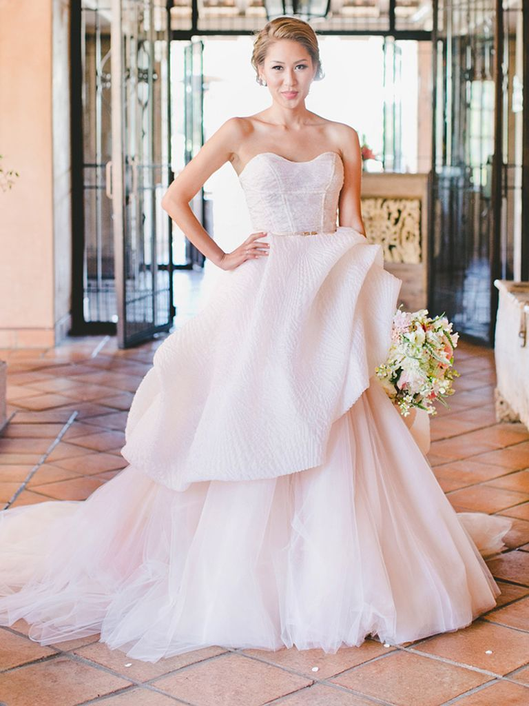 Pink Wedding Dresses Can Represent you Fabulously