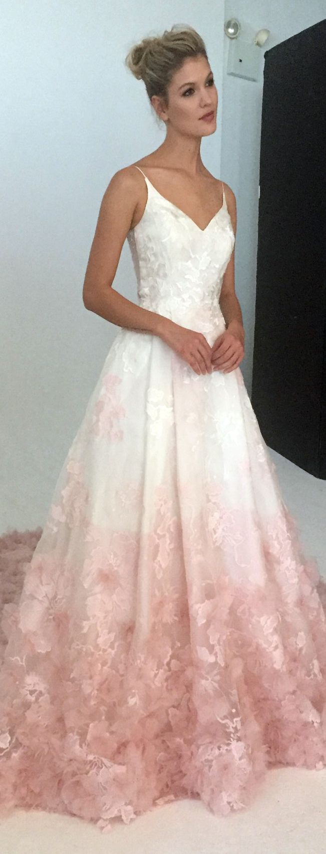 Pink Wedding Dresses blush wedding dress by kelly faetanini fall 2017 ZFYQLBG