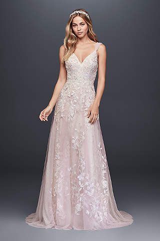 Pink Wedding Dresses pink wedding dresses u0026 gowns | davidu0027s bridal UNRJYDW