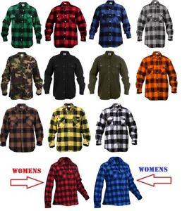 Plaid Shirts for Men image is loading flannel-shirts-extra-heavyweight-brawny-buffalo-plaid -flannel- QDZEXGT