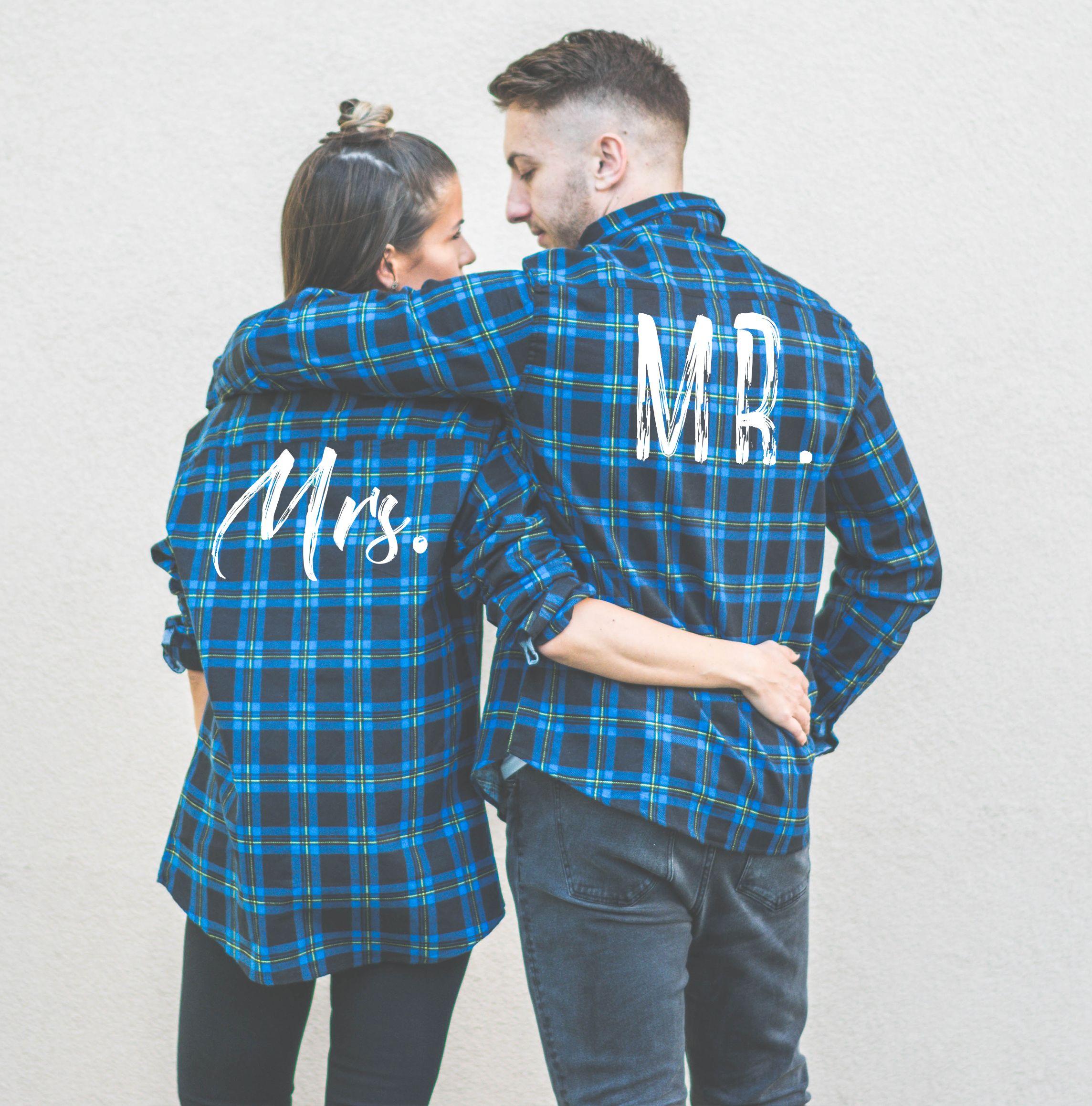plaid shirts mr-mrs-plaid-shirts AHYNWEA