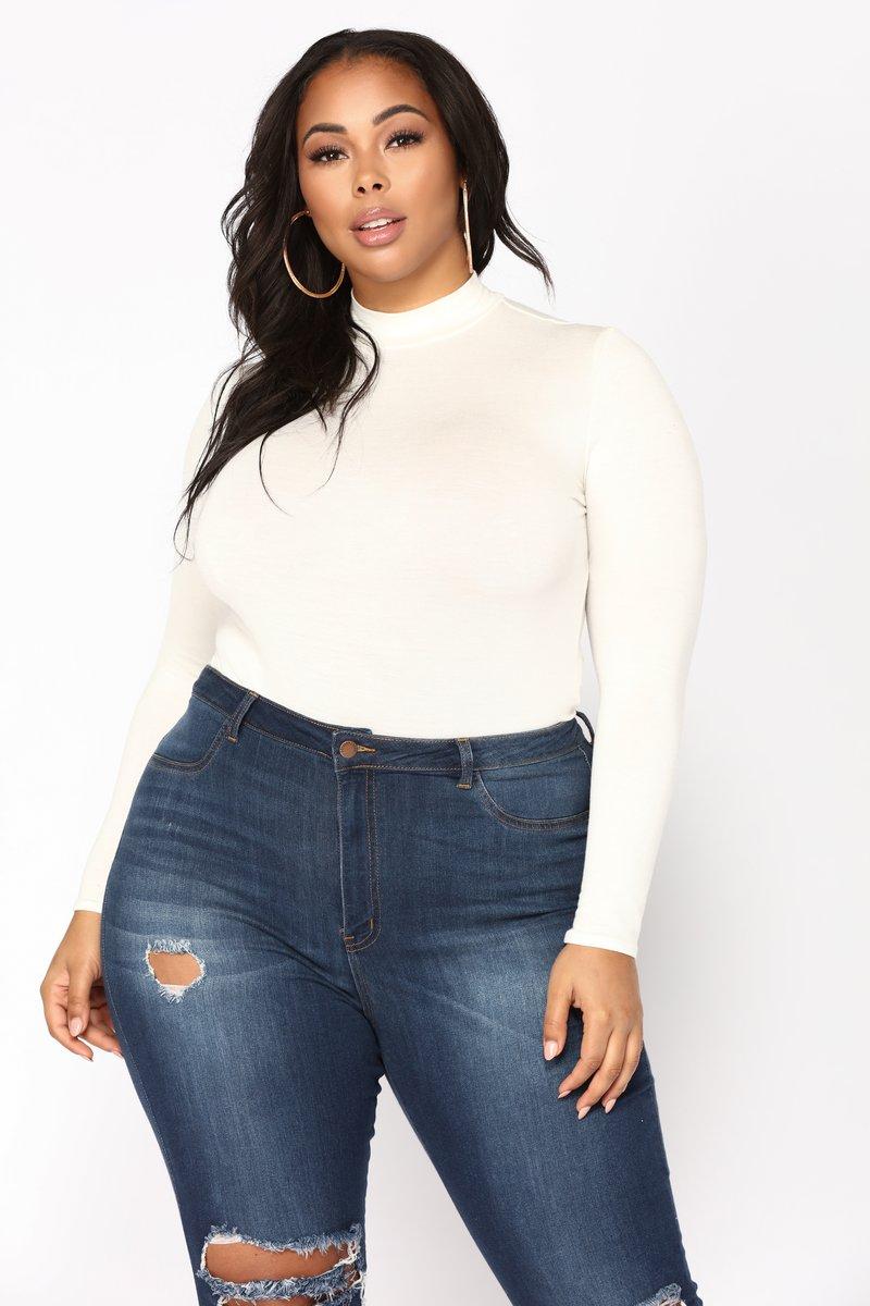Plus Size Bodysuit plus-size SXHBRBJ