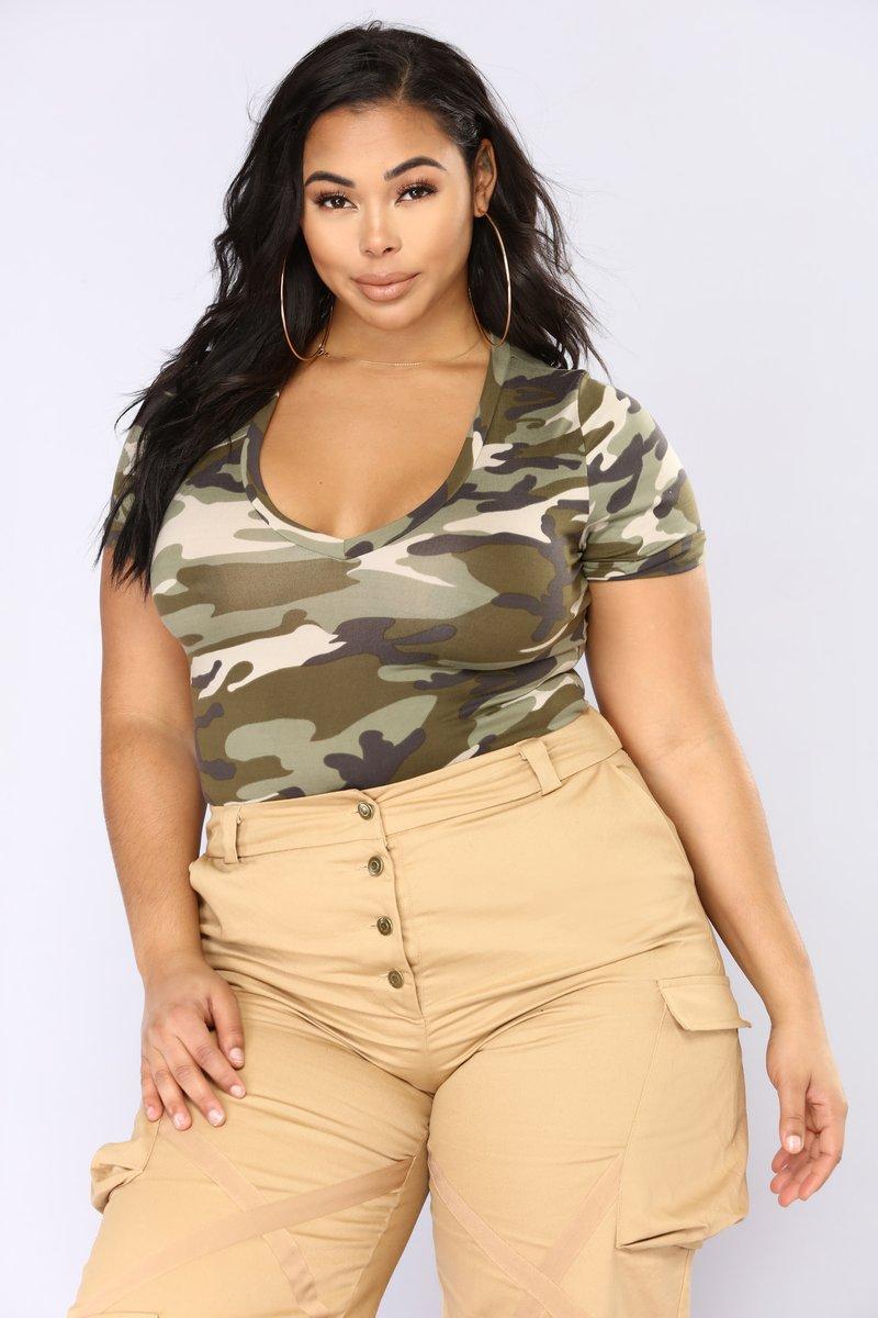 Plus Size Bodysuit plus-size VUPSBBE