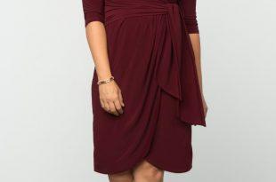 plus size dresses plus size formal dresses | harlow faux wrap | kiyonna ZKMDMCJ