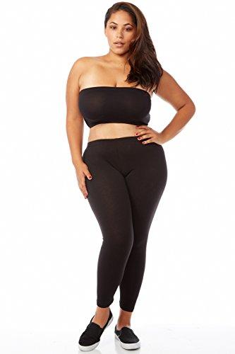 plus size leggings bozzolo plus size long leggings xb4003 at amazon womenu0027s clothing store: BGWFLOY