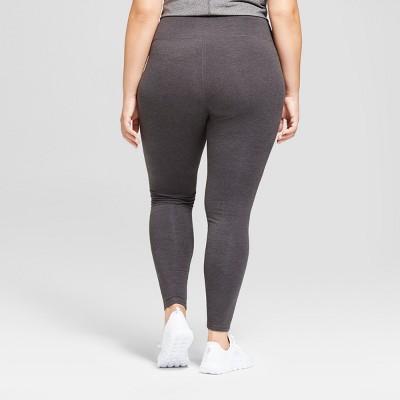 plus size leggings womenu0027s plus-size cotton spandex leggings - c9 champion® : target JYSNGLA