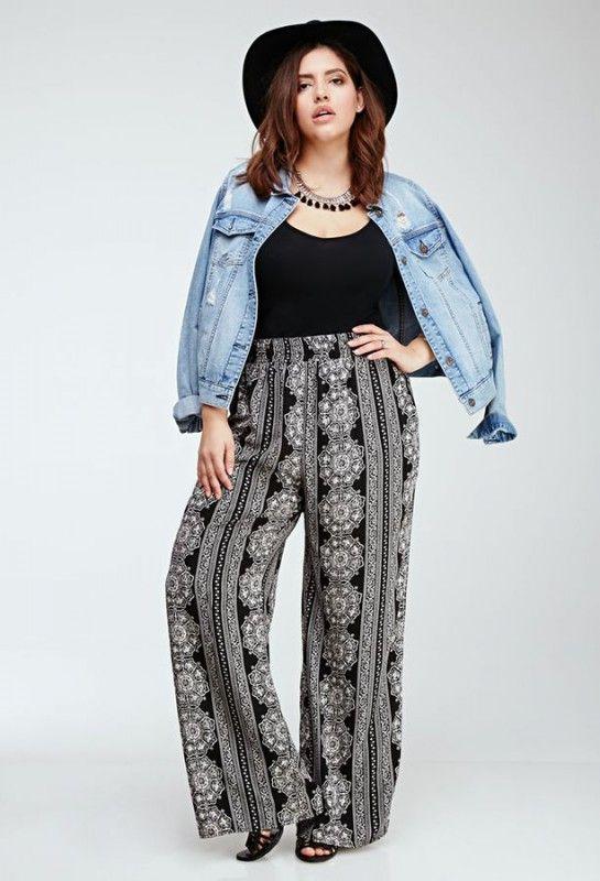 plus size palazzo pants nice palazzo pants plus size 5 best outfits BRZOOTG
