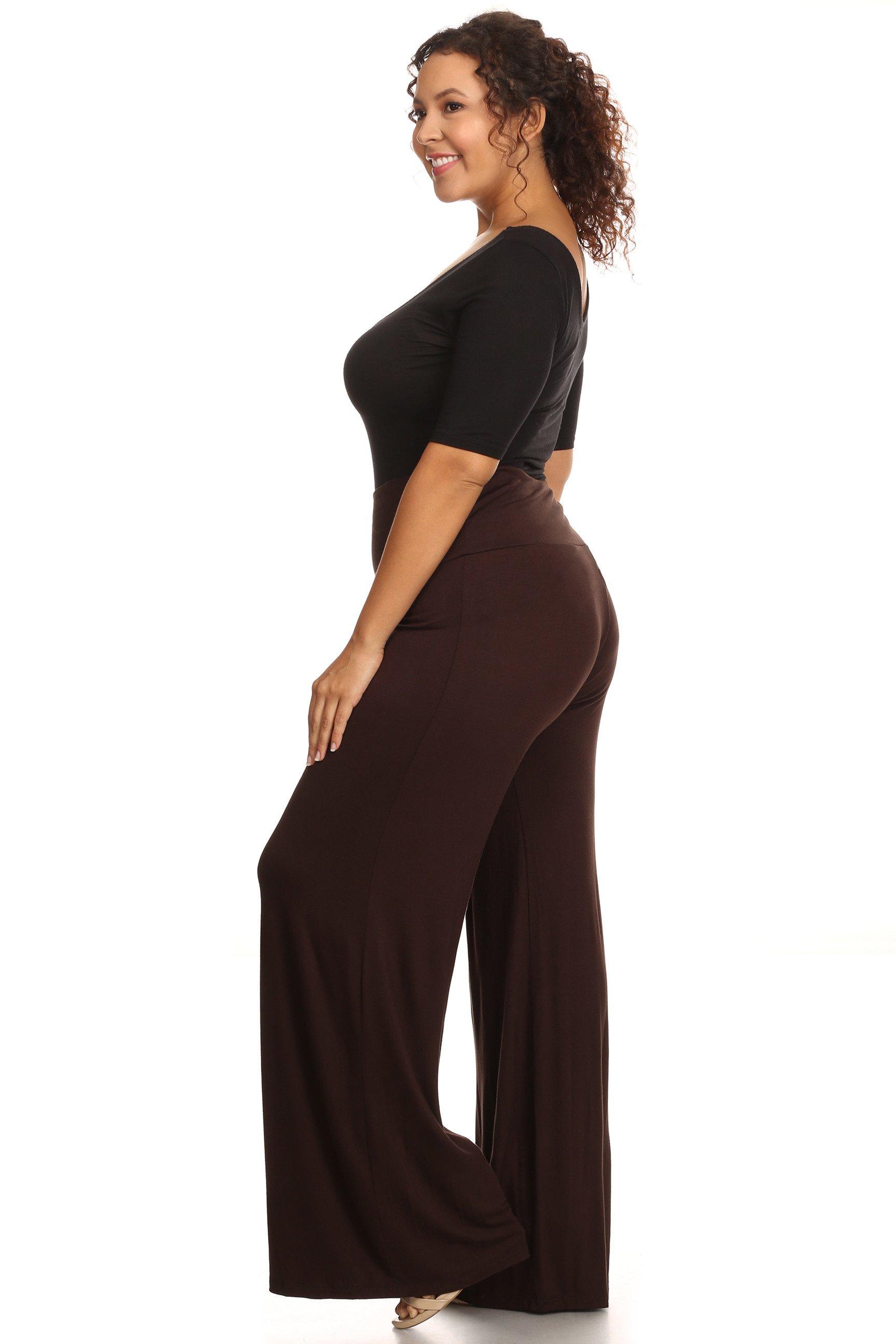 plus size palazzo pants plus size womenu0027s palazzo pants hight waisted made in the usa QOLVQRZ