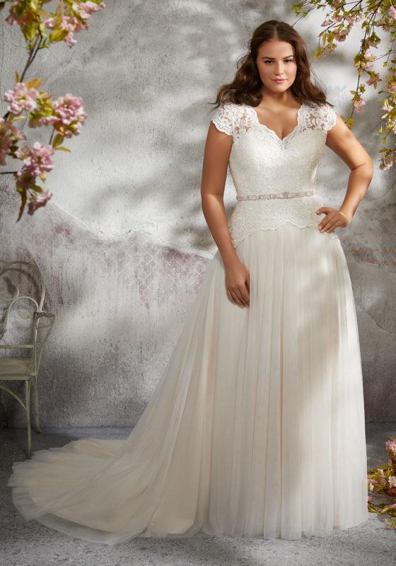Plus Size Wedding Dress wedding dresses u0026 bridal gowns, julietta plus size wedding dresses larita wedding  dress style: PCZFSYB