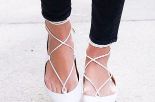 Pointed Toe Flats fall 2015 shoe trend: pointed-toe flats that will totally transform any  fall outfit | MZBMGXH