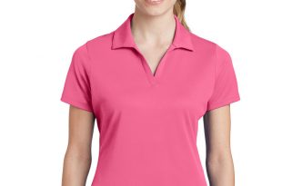 polo shirts for women sport-tek embroidered womenu0027s 100% performance racermesh polo OCSFZYH