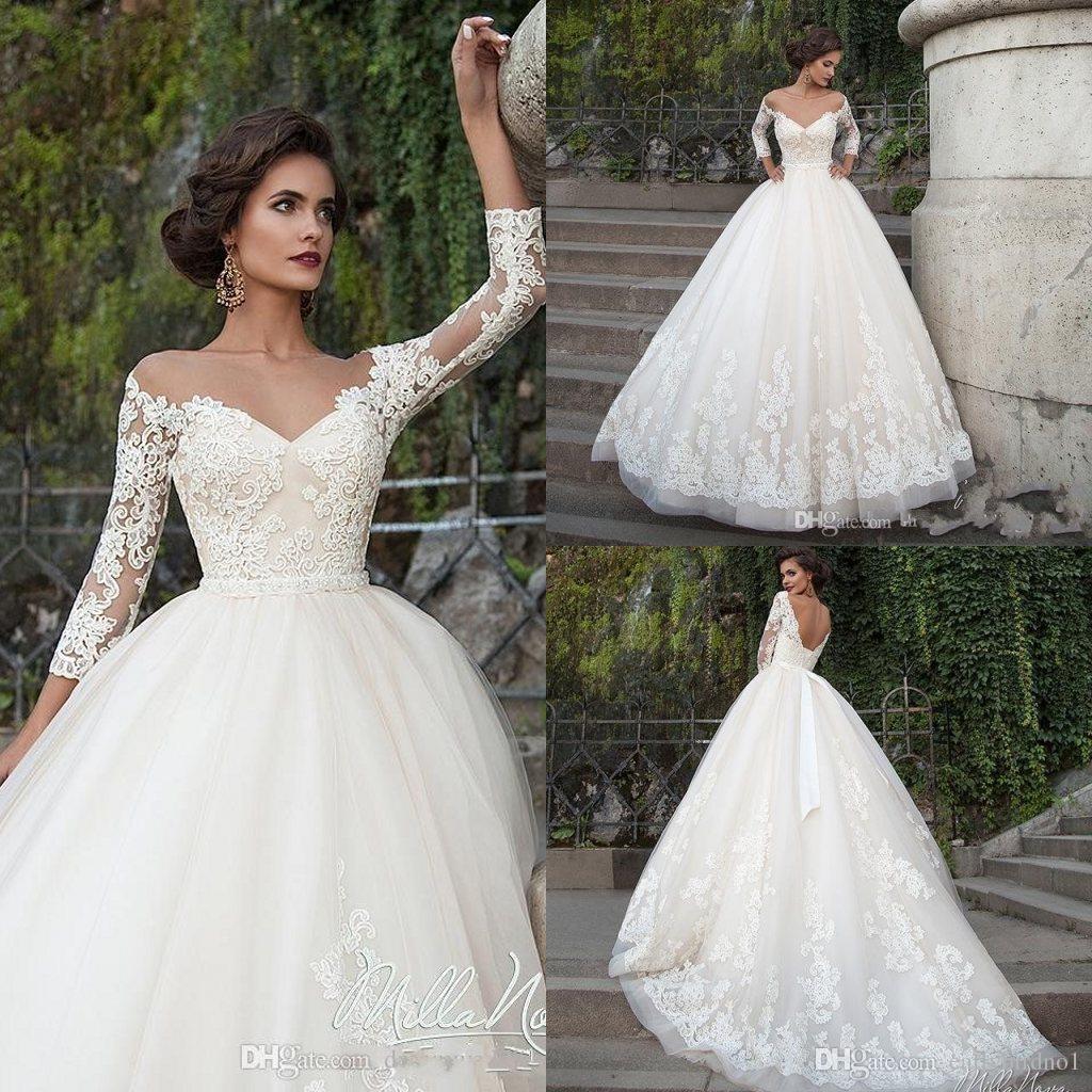 Princess Wedding Dresses discount elegant arabic wedding dresses turkey vestidos de noivas 2017 lace bride  dress princess SKPHELT
