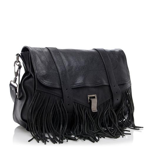 proenza schouler bag proenza schouler leather fringe ps1 runner shoulder bag UGINJBY