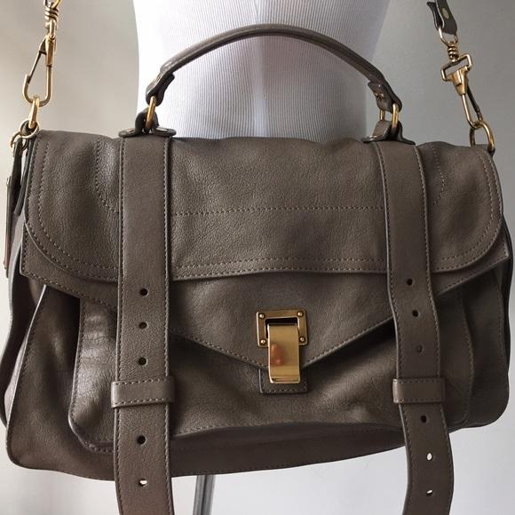 proenza schouler bag {proenza schouler} ps1 medium satchel bag XZJTCKM
