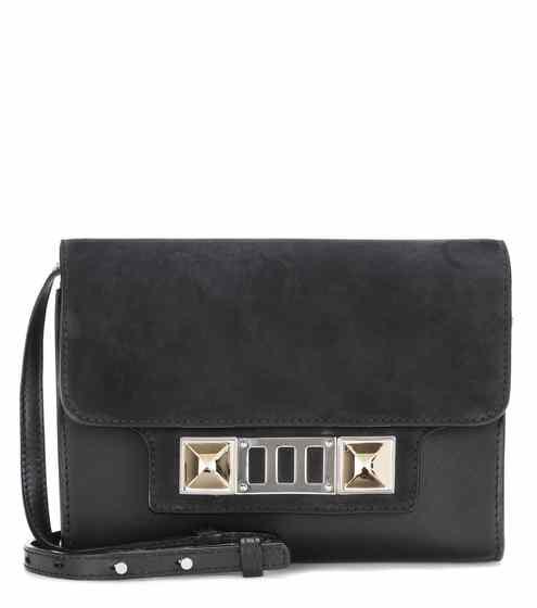 proenza schouler bag ps11 leather and suede shoulder bag | proenza schouler OCLFQYQ