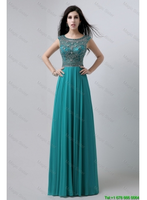 Promdress 2019 discount bateau floor length prom dresses with beading ... ZUJLZIN